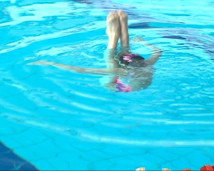 Всероссийские соревнования по синхронному плаванию
