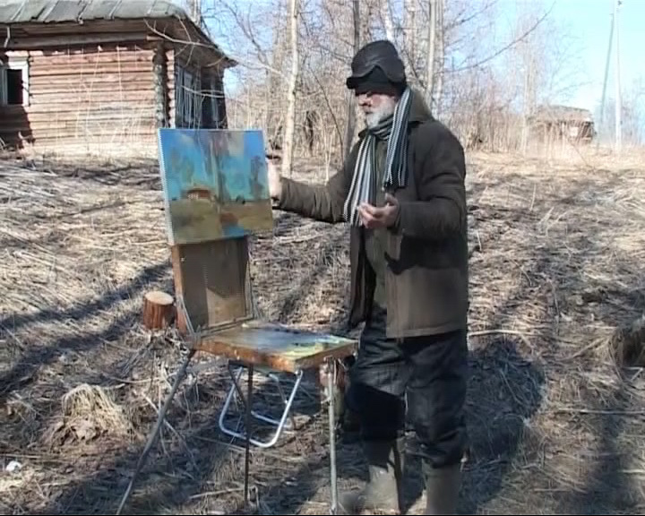 Художники собрались на весенний пленэр