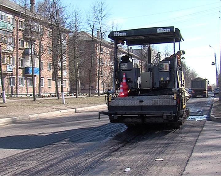 Улицу Добрынина в Ярославле снова ремонтируют