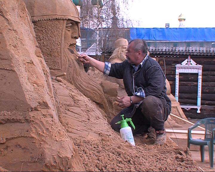 Готовится к открытию выставка песчаных фигур