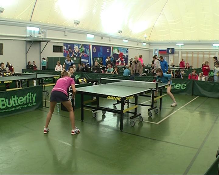 В спорткомплексе «Олимпиец» стартует крупный турнир по пинг-понгу
