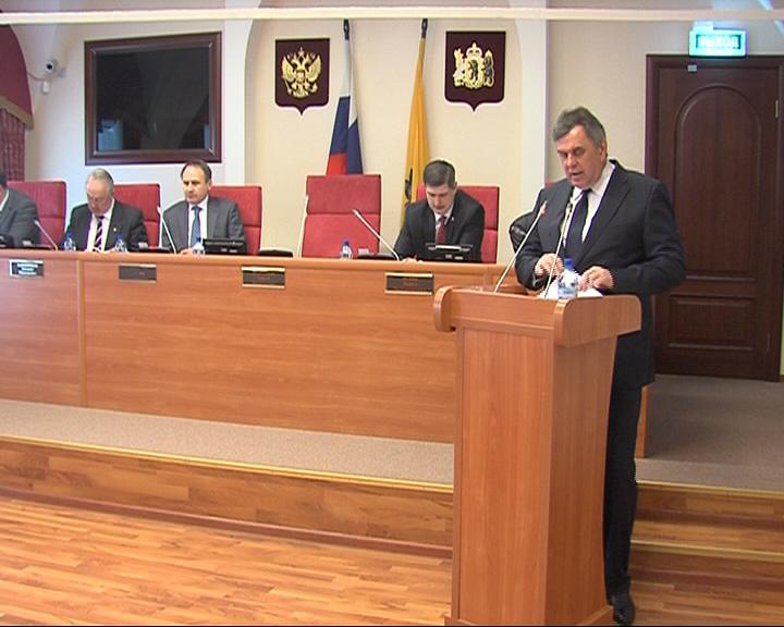 Сергей Ястребов отчитался о работе Правительства