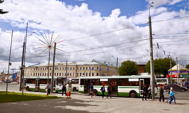На Первомай в Ярославле ограничат движение транспорта