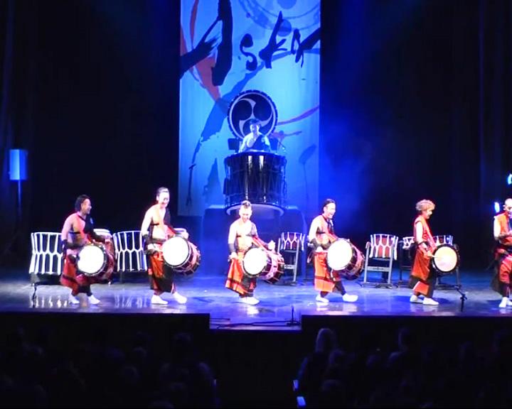 Шоу японских барабанщиков «Аска-Гуми»