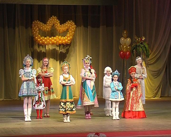 Состоялся конкурс красоты среди девочек от 6 до 14 лет