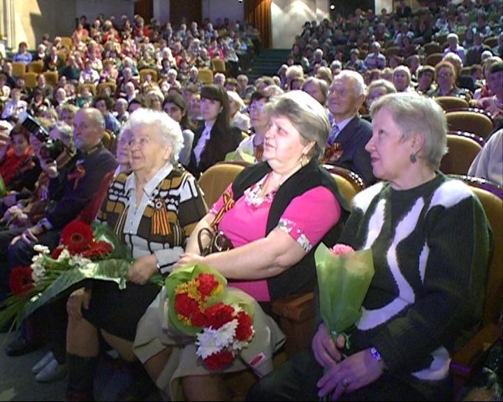 Чествование женщин-ветеранов Великой Отечественной войны