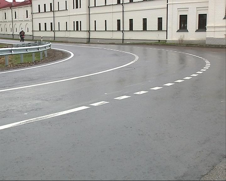 Ремонт дороги в поселке Варницы завершен