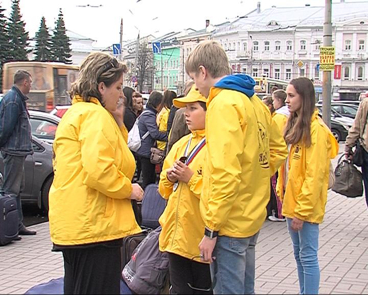 Ярославцы вернулись с Дельфийских игр из Волгограда