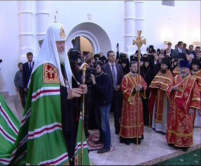 Патриарх Кирилл открыл торжества