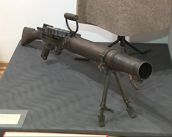 Частный коллекционер выставил 70 образцов оружия