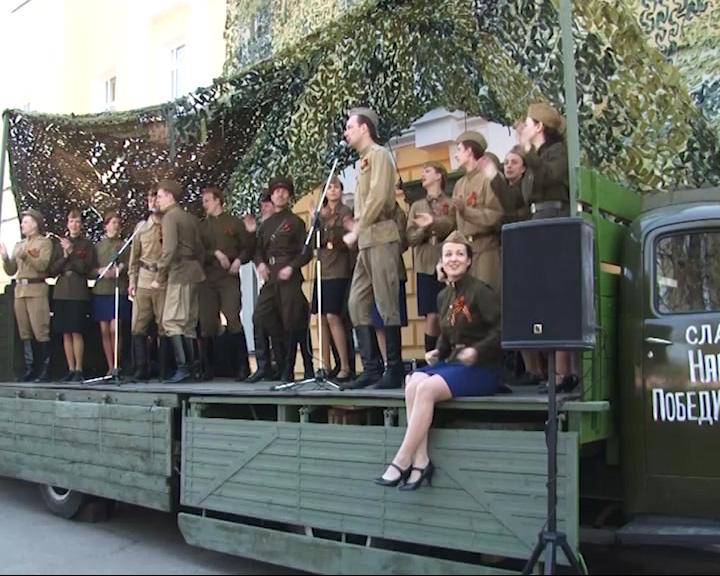 Театр Волкова в День Победы дал праздничный концерт