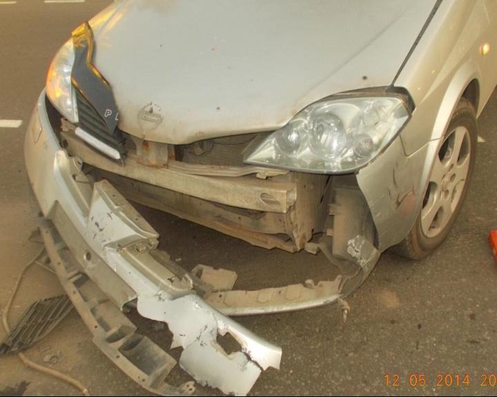С аварии женщину увезли в больницу с оторванной стопой