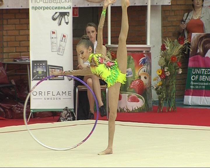 Стартовал девятый Международный турнир по художественной гимнастике
