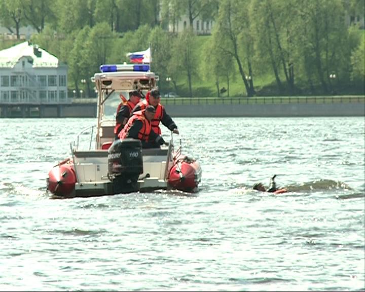 Спасатели проводят тренировки