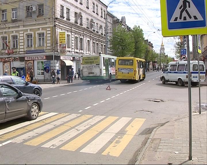 В Рыбинске сбит пешеход