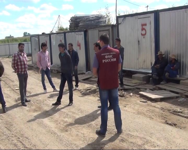 Очередную группу нелегалов задержали сотрудники миграционной службы