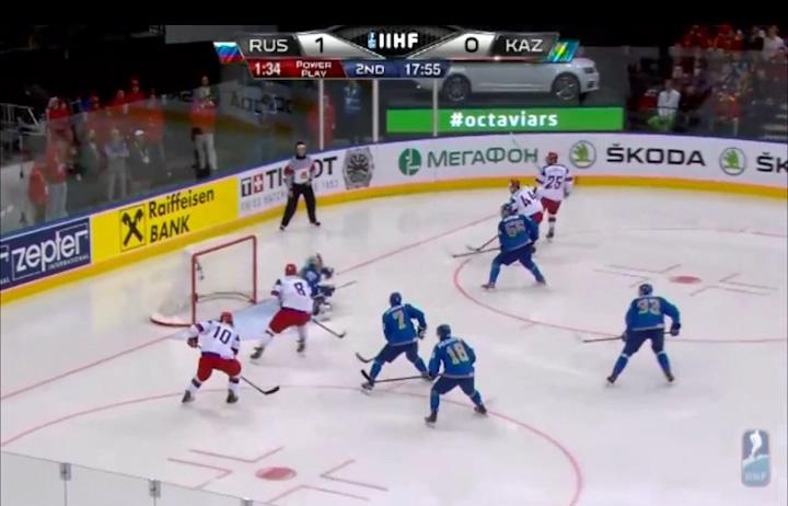 Сборная России по хоккею одержала четвертую победу подряд