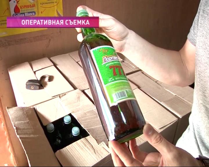 Тысячу литров контрафактного алкоголя обнаружили полицейские