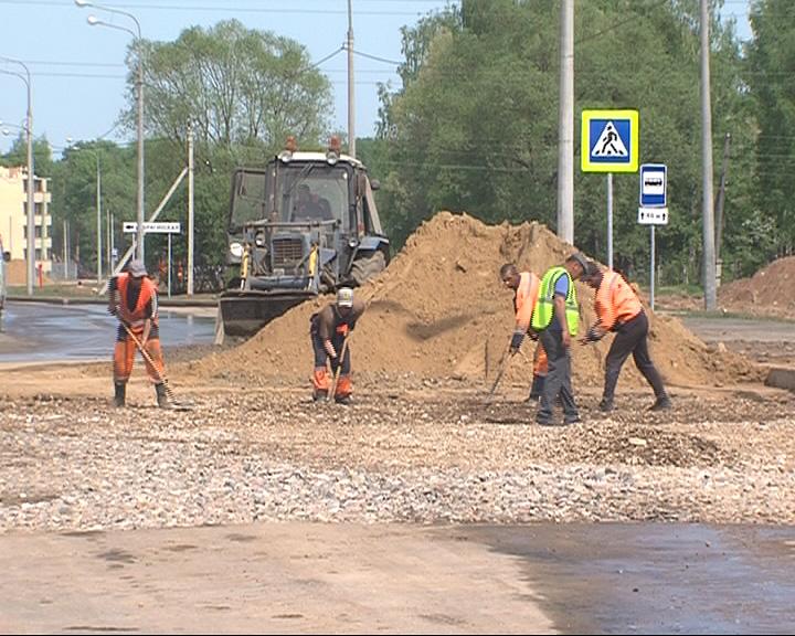 Главные транспортные магистрали Брагино дождались ремонта