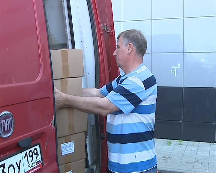 Лекарства из Ярославля прибыли в Севастополь