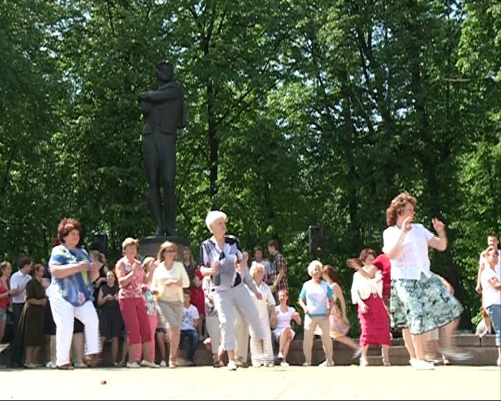 Фестиваль буги-вуги в День города