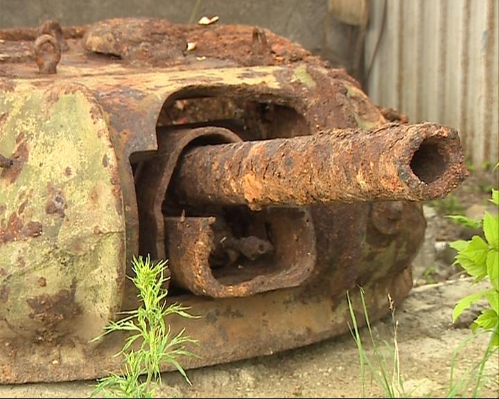 Обнаружена башня танка Т-34