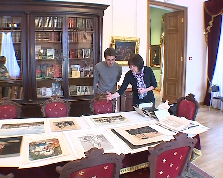 Ярославский Художественный музей получил отреставрированные литографии, книги и живопись
