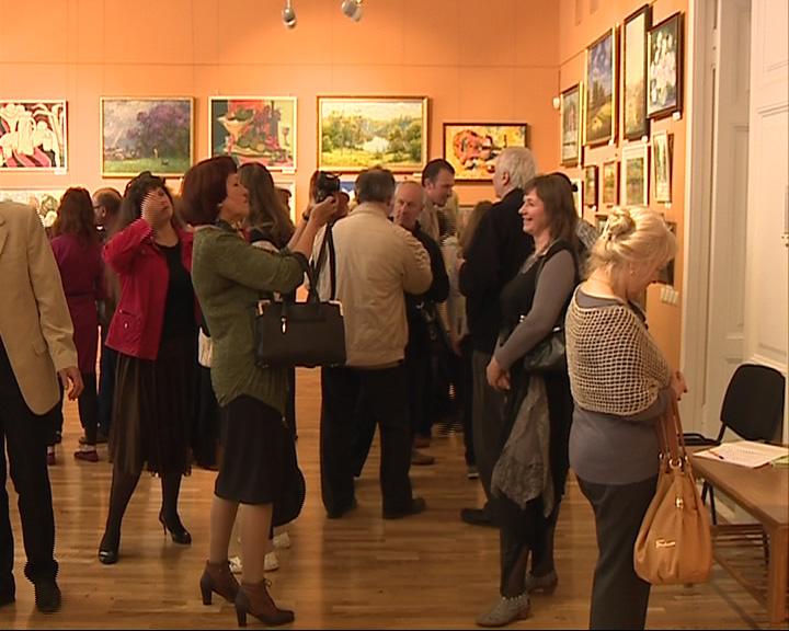 40 художников в одном зале музея-заповедника