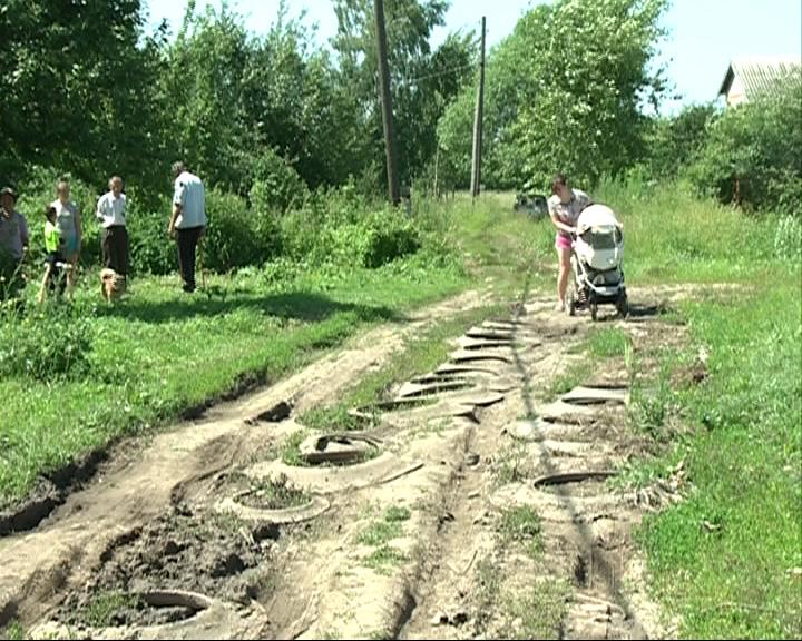 В деревне Алексеевское дорогу ждут уже 20 лет
