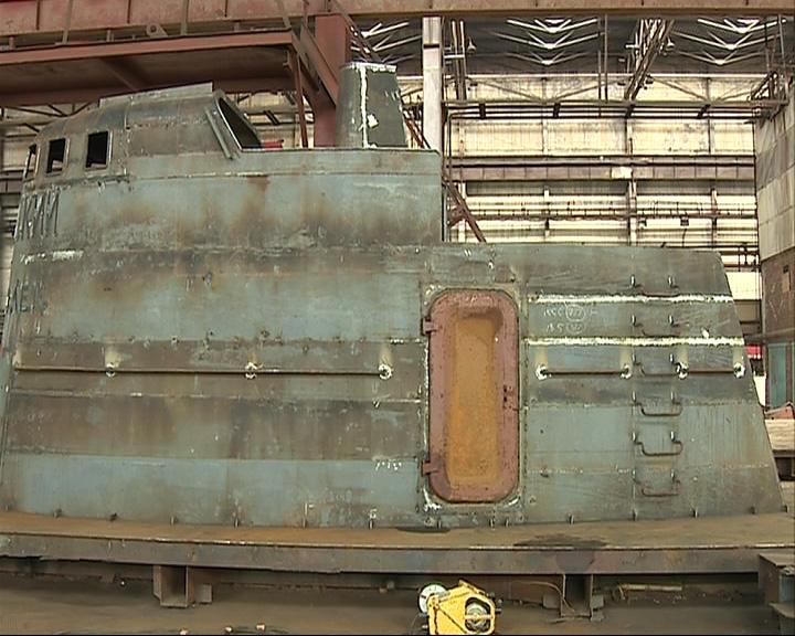 Создана точная копия части подводной лодки ВОВ