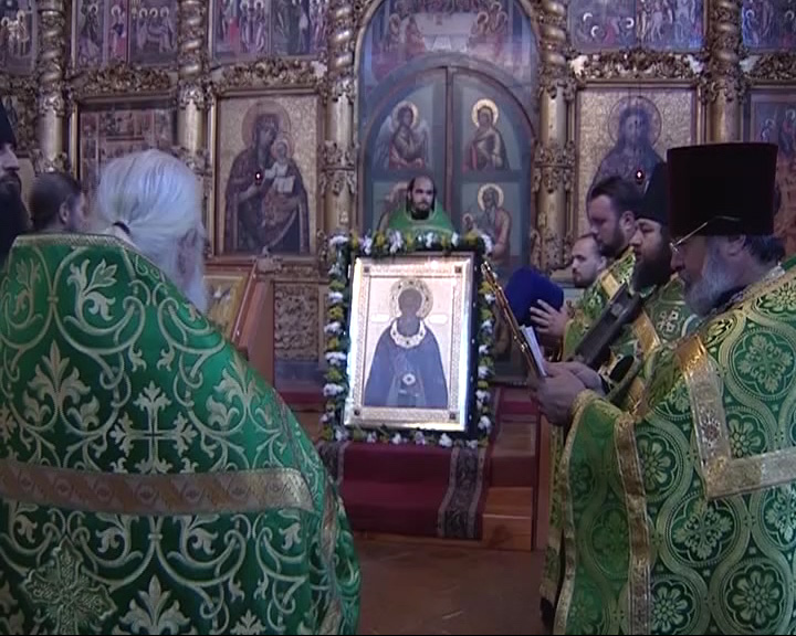 В Углич доставлена икона преподобного Сергия Радонежского