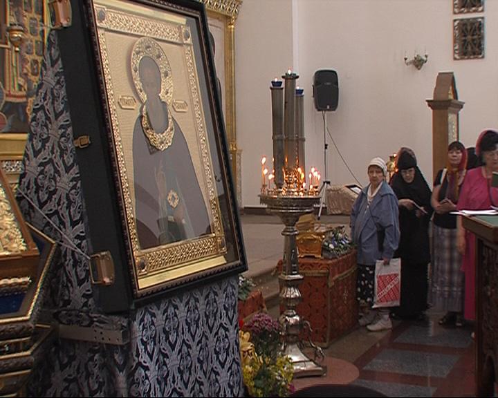 Икона преподобного Сергия Радонежского доставлена в Ярославль