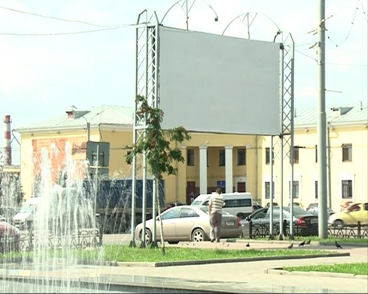Рекламных конструкций в Ярославле станет меньше
