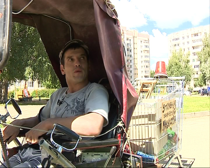 Инвалид мечтает о коляске с электроприводом