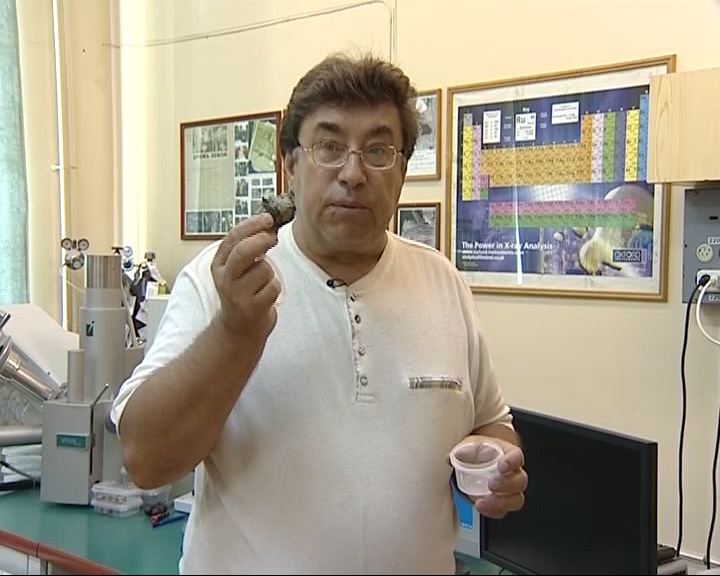 В Ярославскую область привезли Челябинский метеорит