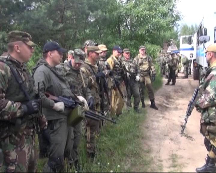 Прошли тактико-специальные занятия бойцов мобильного отряда полиции