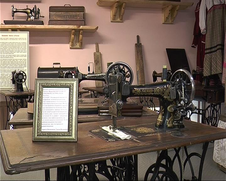 Музей швейных машинок в Переславле