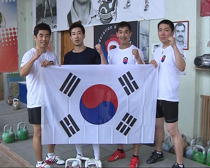 В Рыбинск приехала делегация спортсменов-гиревиков из Южной Кореи
