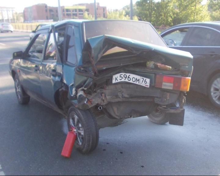 Повышенная аварийность в эти выходные наблюдалась на ярославских мостах и около них
