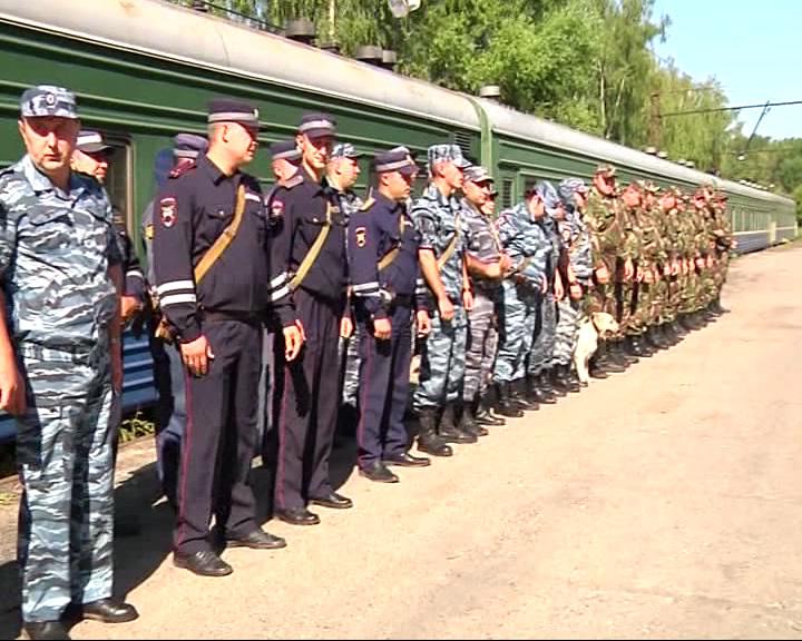 Накануне сотрудники полиции вернулись из Дагестана