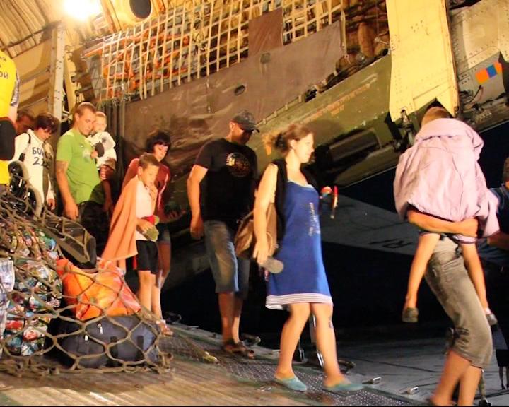 В наш регион было доставлено еще около 120 беженцев