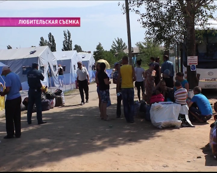 В Ростовскую область отправилась фура с гуманитарной помощью