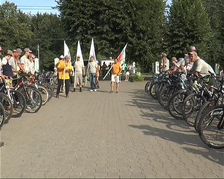 Участники велопробега уже в Переславле