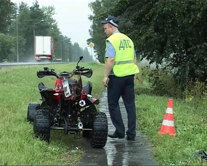 В деревне Макарово погиб квадроциклист