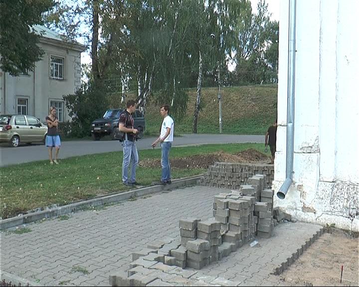 В Переславле начались работы по реставрации Спасо-Преображенского собора.