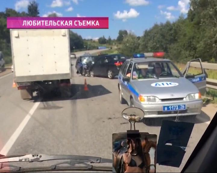 Страшная авария на трассе Ярославль - Рыбинск.