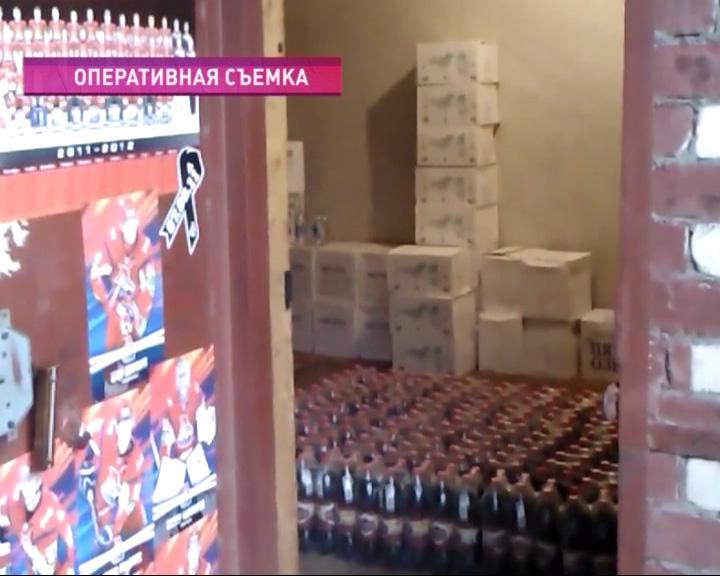 Выявили более 2 тонн алкоголя с признаками контрафакта