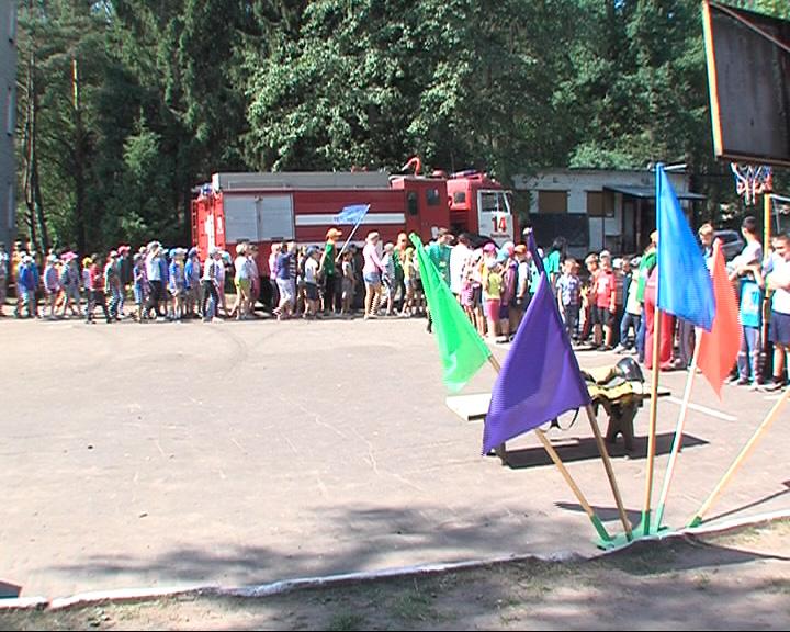 Открытый урок для воспитанников в детском лагере в Дубках