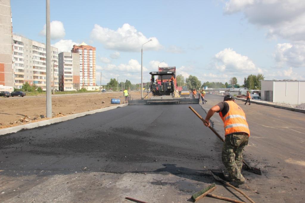 В Ярославле завершается строительство улицы Сахарова