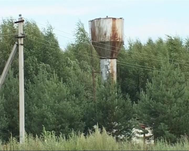Трубу закрыли - поселок без воды